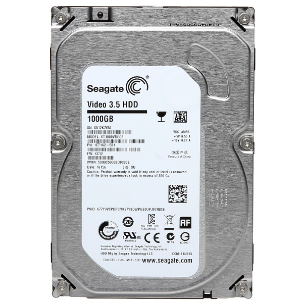 Seagate ST1000VM002 Video